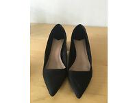 Stradivarius, block heels, size 36 (UK 3)