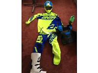 Brand new mx kit and boot tags on bargain !!