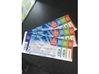 MotoGP tickets-Silverstone, 3 day entry for 3 adults