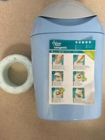 Tommie Tippee Blue nappy disposal system