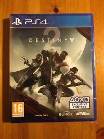 Destiny 2 for PS4 , Brand New Sealed , £40
