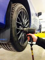 Help make a Safer Winter, Hiring Tire Technicians $12-16/hr