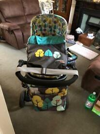 Cosatto giggle 2 firebird travel system