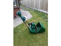 Quqalcast Suffolk Punch 35S Petrol Cylinder Lawnmower