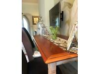 Dining room table and 6 chairs (barker and stone house)