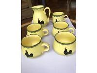Zeller Keramik 1794 Cocks & Hens Collectibles