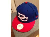 Vintage DC New Era Snapback Hat Cap