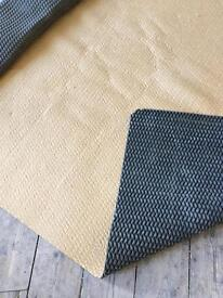 Free carpet underlay for reuse/ recycling