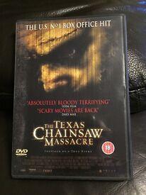 The Texas chainsaw massacre dvd