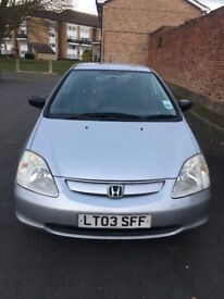 Perfect running car with full year mot , and with all old mots ,
