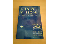 Audio Vision by Michel Chion [BOOK]