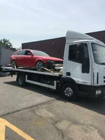 24 HOURS CAR VAN RECOVERY ACCIDENT BREAKDOWN TOWING SERVICE FORKLIFT VEHICLE TRANSPORT
