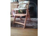 High Chair....Wooden