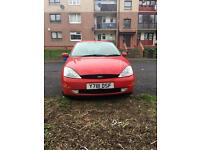 Ford Focus 2001 plate