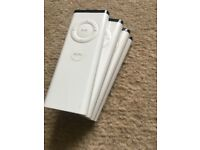 Apple Remotes, White NEW x4