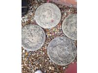 4 squirrel step and stone good condition