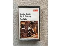 Original cassette tape - The Who - Meaty Beaty Big & Bouncy - 1971