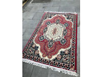 Rug , great colours. In good condition . Size 74in x 47in. Feel free to view
