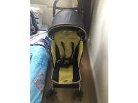 Maclaren Quest stroller with raincover