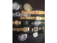 Joblot over 200 watches