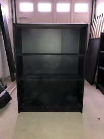 Two x Three Shelf Billy Bookcase, Excellent Condition