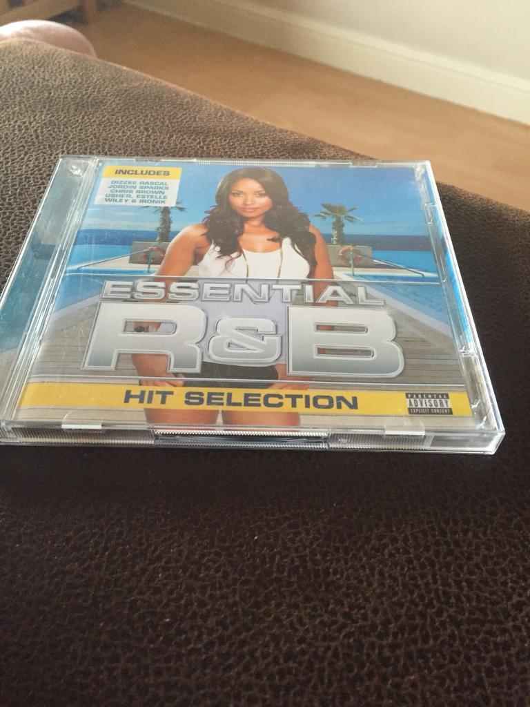 Essential r&b hit selection cd album