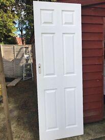 Two New white doors
