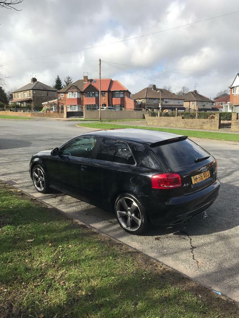 Audi a3 s-line black edition 2.0 tdi automatic