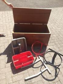 Equestrian. Wooden Storage Box- Bucket Holders - Tack Trays-Saddle Rack