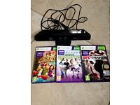 XBOX KINECT AND NUMBER OF GAMES