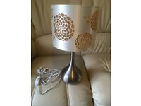 *** TABLE LAMP... V.G.C... £3 ***