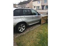 BMW X5 for spairs or repairs