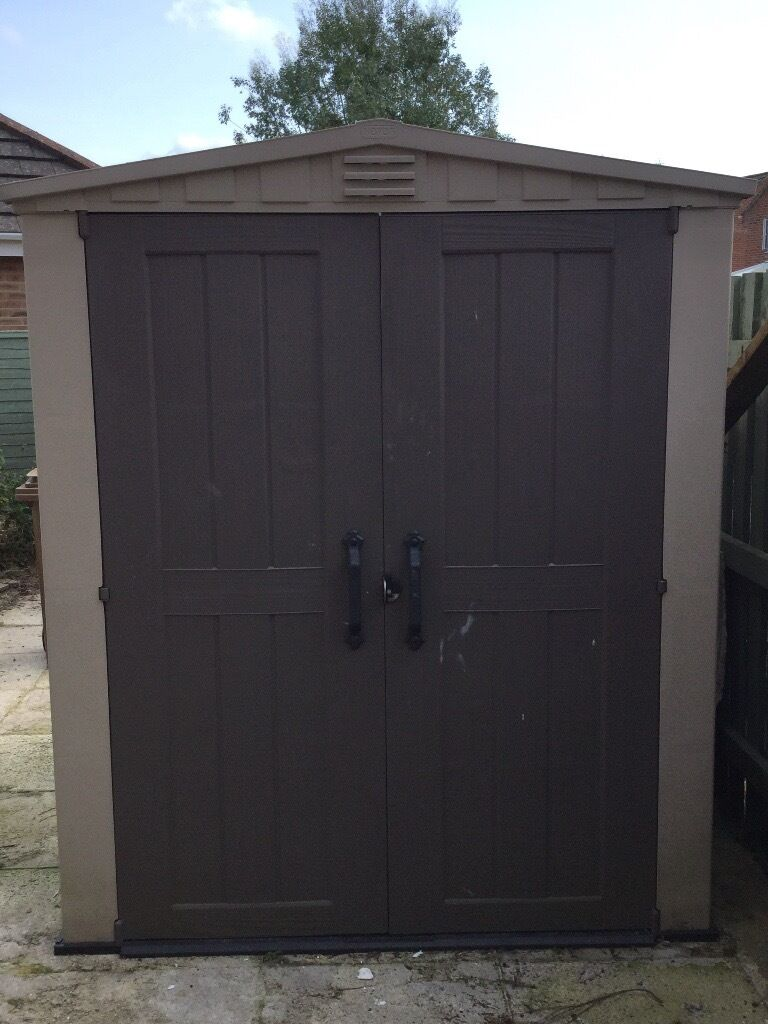 Keter Factor 6x6 Plastic Shed For Sale In Verwood