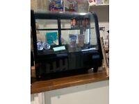 Commercial display cake fridge
