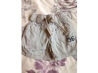 9-12 month shorts from next boys