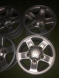 Land Rover boost alloy wheels defender 90 110 td5