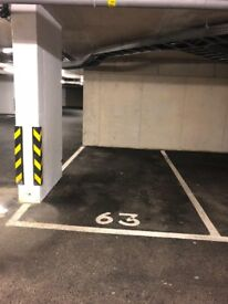 Secure car parking space to rent v close to Cambridge train station, remote control for double gates