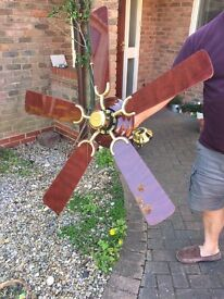 Brown Ceiling Fan £10