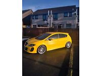 2007 Seat Leon motd, factory yellow, bttc kitted from factory real head turner