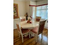 Italian style dining suite