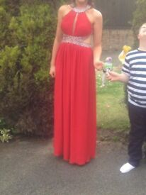 Red Destiny Prom Dress OPEN TO OFFERS