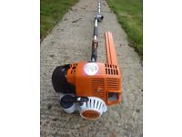 Stihl hl 95 k long reach hedge cutters barely used sell for £520 now see photo 2