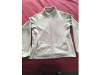 2x ladies Zipper fleece tops size 14 pink & biege