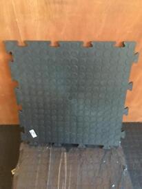 Interlocking vinyl floor tiles - 15