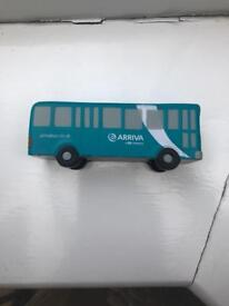 Squishy Bus Toy Arriva Squishy Bus *RARE*