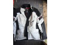 Motorbike boots size 6 All weather trousers and jacket