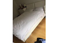 White Modern Bed for Sale (EU King 180x200cm)
