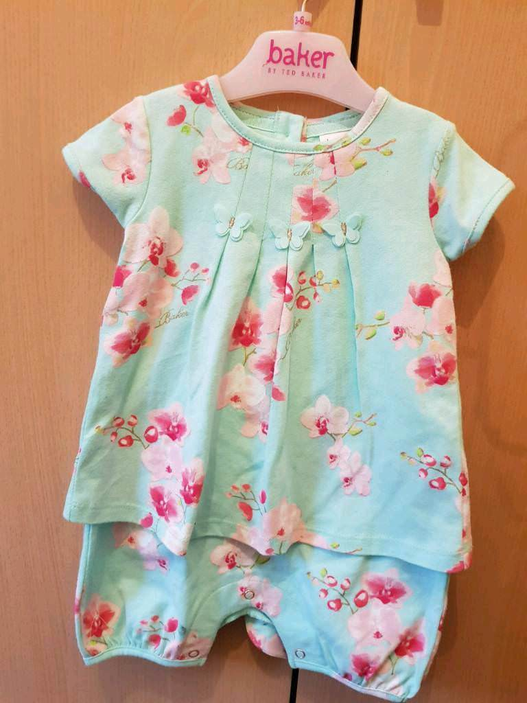 e08a2c7584318b Ted Baker Baby Romper Suit