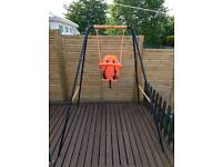 Kids outdoor swing 2 in 1