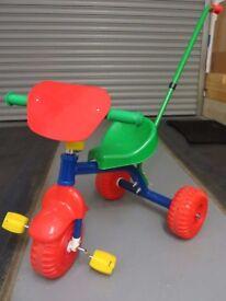 Child's push/pedal trike